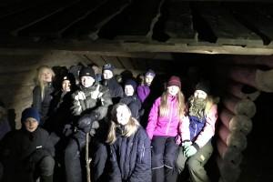 Hur mörkt är det på Hunneberg?