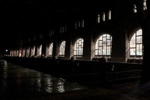 Det glittrar i mörkret