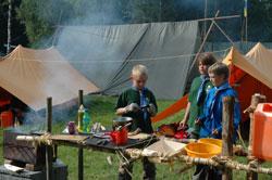 scoutmatlagning