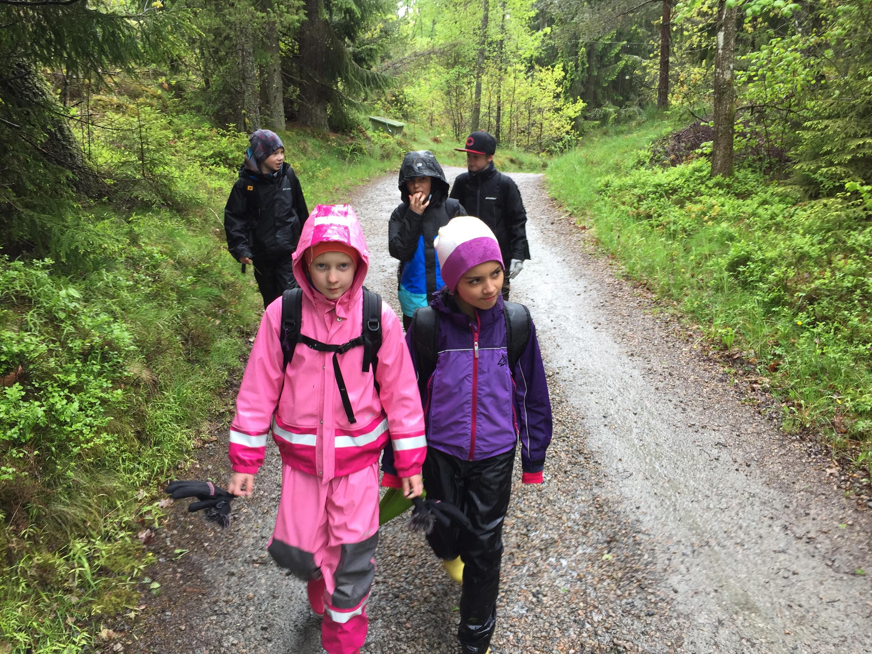 Nya tält på Sollägret. – Trollhättans Scoutkår